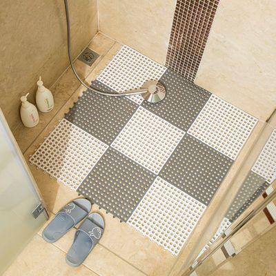 浴室防滑垫淋浴家用洗澡间隔水拼接垫子厕所洗手间地垫卫生间脚垫
