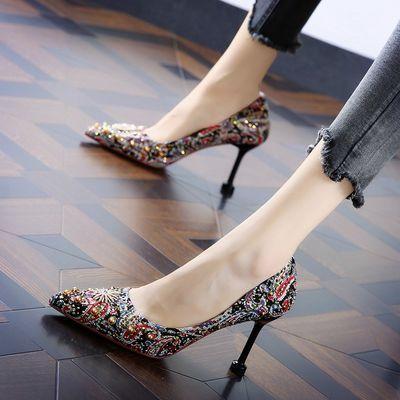 新款铆钉鞋女