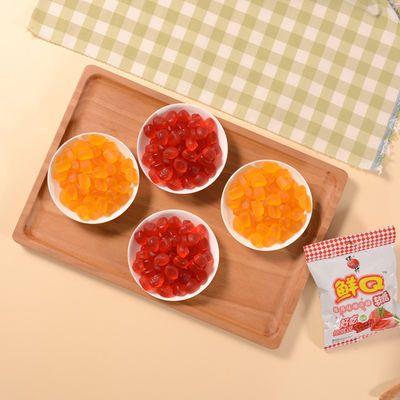 【蜡笔小新官方旗舰店】果汁软糖橡皮糖混合口味休闲零食儿童糖果