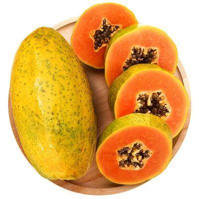 【果园直发】广西冰糖红心木瓜3/5/10斤装新鲜水果树上熟批发包邮