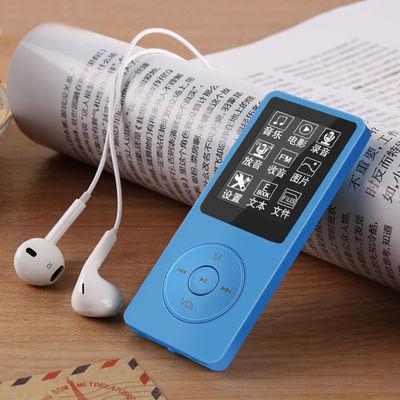 mp4mp3播放器学生版音乐随身听mp4看触摸屏mp6小倾携式p3可爱听歌