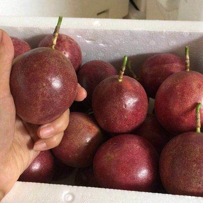 广西百香果新鲜包邮当季水果西番莲鸡蛋果现摘现发单果40-80克