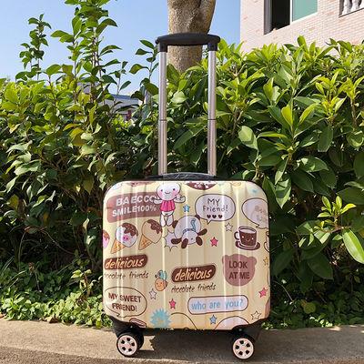 爆款】18寸小行李箱女旅行箱万向轮16寸拉杆箱男密码登机箱【3月7日发完】