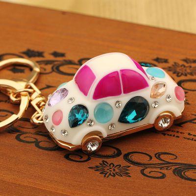 蒙奇奇钥匙扣挂件女可爱韩国创意卡通汽车钥匙链圈包包挂饰礼物