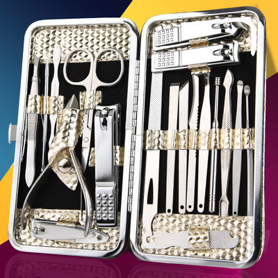 韩国777指甲剪指甲刀套装家用大号脚趾甲剪刀斜口指甲钳修甲工具