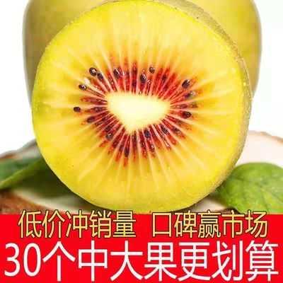 四川蒲江红心猕猴桃奇异果新鲜水果当季时令水果整箱包邮10-30粒