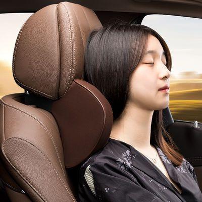 汽车头枕颈枕脖子靠枕车用枕头车载座椅靠背垫腰靠垫车上腰垫套装