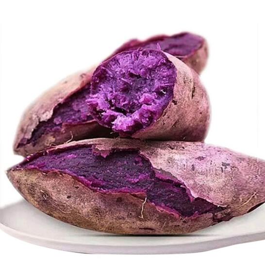 【现挖现发】紫薯农家自种地瓜山芋粗粮紫心红薯3斤5斤沙地小紫薯