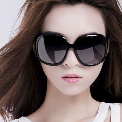 2020新款偏光女士太阳镜时尚潮大框圆脸眼镜百搭防紫外线网红墨镜