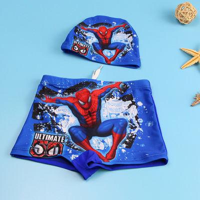 新款儿童泳裤泳帽泳镜套装男童泳衣宝宝分体游泳衣中小童婴幼儿童