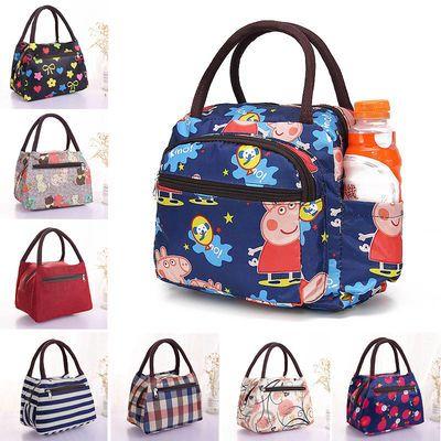 手提包女手拎包饭盒袋学生手提包防水便当包妈咪包女士包包小布包主图