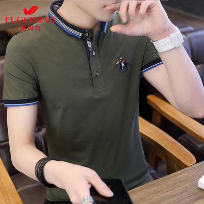 纯棉冰丝2019新款男士短袖t恤短袖男装夏季短袖polo衫【3月15日发完】