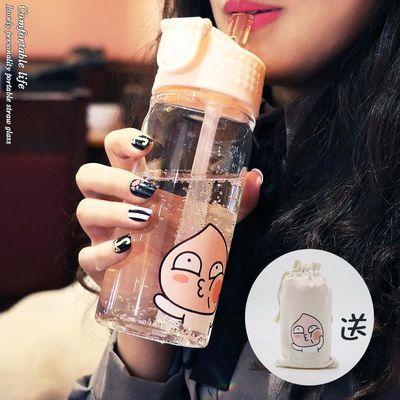 不锈钢保温杯男女304便携水杯带盖学生韩版创意潮流办公茶杯子【3月17日发完】