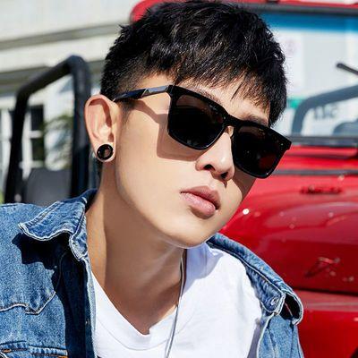 墨镜男士复古韩版潮太阳镜偏光开车司机近视眼镜网红潮流眼睛时尚