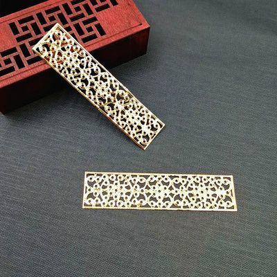 diy金属长方形三角形花片 手工自制古风发饰品材料步摇发簪配件