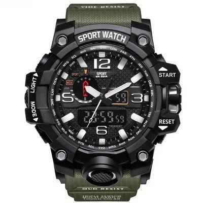 特种兵战狼2手表多功能运动男电子表中学生青少年防水军表黑科技