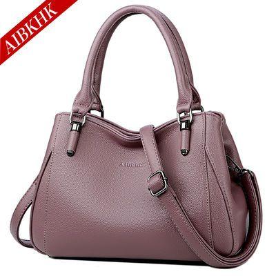 真皮包包女士2020新款手提包大包中年女包妈妈包单肩斜挎牛皮包包