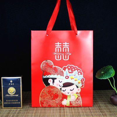 喜袋纱袋结婚庆用品喜糖袋子糖果袋纱袋喜烟袋回礼品袋创意喜袋