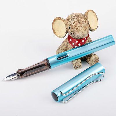 钢笔正品墨囊墨水两用钢笔正姿永生正品钢笔学生练字书写钢笔