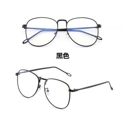 费启鸣同款防辐射眼镜男电脑防蓝光平面平光镜框女素颜近视眼睛潮