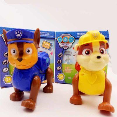 大号电动汪汪队立大功玩具狗狗巡逻队会走路儿童动漫玩具男孩礼物