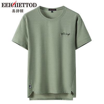 易诗顿男士短袖t恤2019夏季新款韩版男生潮牌短袖T恤潮流男装上衣