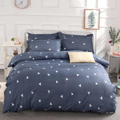 【被套+2枕套+四件套】被套单件双人被罩床上用品褥罩家纺三件套【3月1日发完】