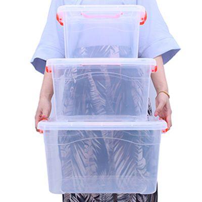家庭医药箱透明家用儿童宝宝小医药品箱大号医疗急救箱出诊医药箱