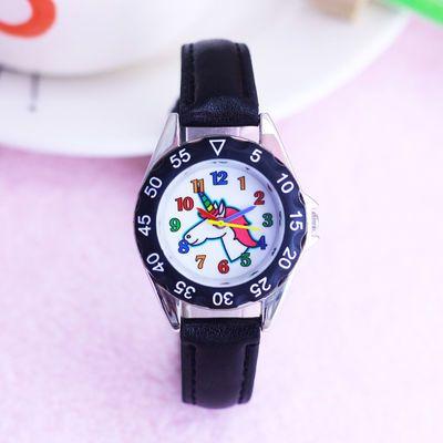 可爱卡通小巧男孩手表中小学生儿童石英防水幼童礼物潮流腕电子表