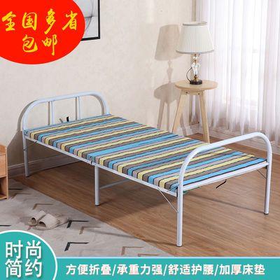 办公室折叠床单人床轻便行军床两用木板床小型可折叠床成人午睡床