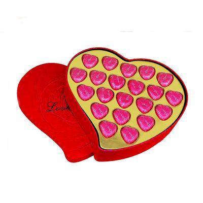 【14.9元限時搶,搶完恢復21.29元】七夕情人節禮物送女友 德芙巧克力禮盒裝心形生日表白浪漫送女生