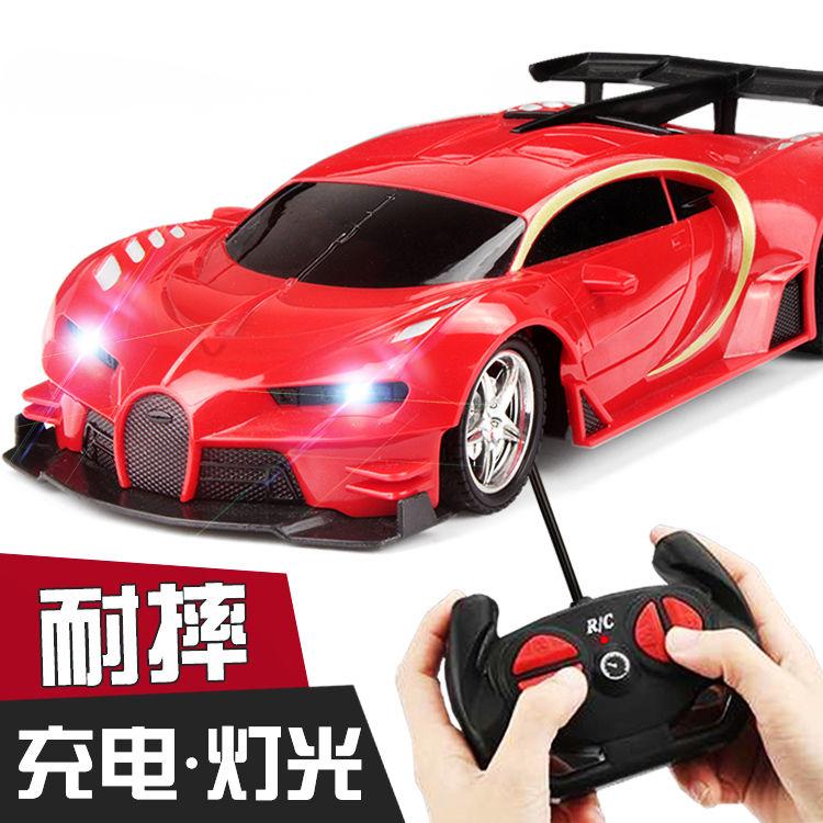 儿童玩具车遥控汽车可充电遥控车漂移赛车小孩男孩电动小汽车玩具