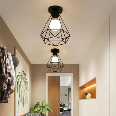 吸顶灯创意个性门厅过道灯走廊灯玄关阳台卧室灯美式简约北欧灯具