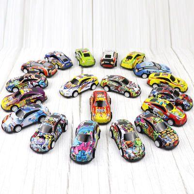 迷你回力合金车儿童模型玩具车男孩耐摔小汽车宝宝仿真3-6岁