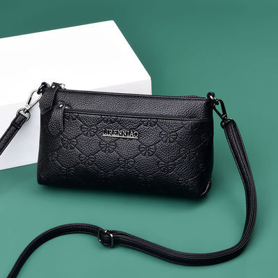 中年妈妈包包女2020新款手拿包中老年女士零钱小包时尚单肩斜挎包