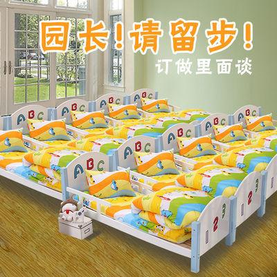 幼儿园被子三件套纯棉含芯儿童专用被褥午睡被宝宝入园床品六件套