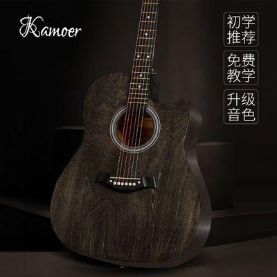 爆款吉他初学者38寸41寸民谣木吉他新手入门学生成人练习吉他男女