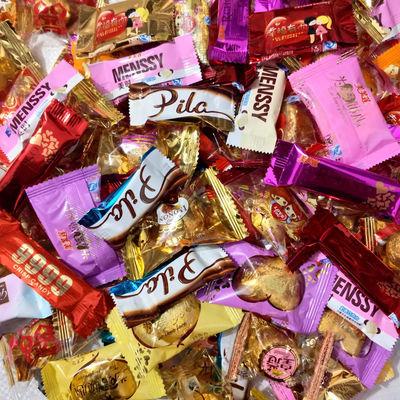 创意黑巧克力混装婚庆喜糖送礼朱古力散装批发生日礼物