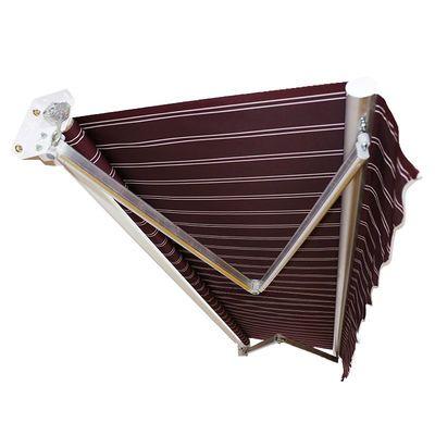 雨棚遮阳棚折叠伸缩式帐篷户外全自动防雨摆摊挡大伞布车遮雨棚子