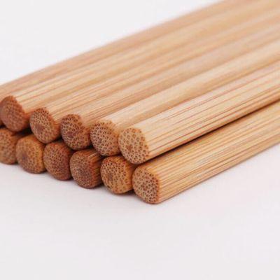 【亏本促销1000份竹筷子】防霉楠竹筷子无漆无蜡天然竹筷子家用