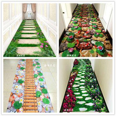 可任意裁剪客厅茶几卧室门厅玄关地垫地毯防滑垫满铺宾馆走廊地毯