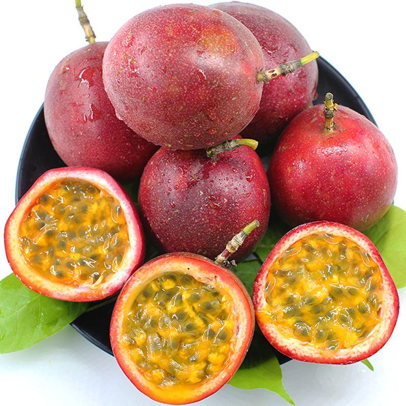 【送开果器】广西百香果大果5斤装2/3斤12个新鲜水果酸甜果大多汁_0