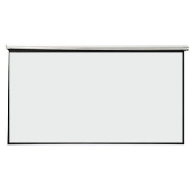 白塑玻纤灰玻纤60-150手拉投影仪幕布家用教学办公高清投影机幕布