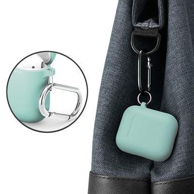 airpods保护套1/2代苹果无线蓝牙耳机套硅胶分离简约纯色个性防滑