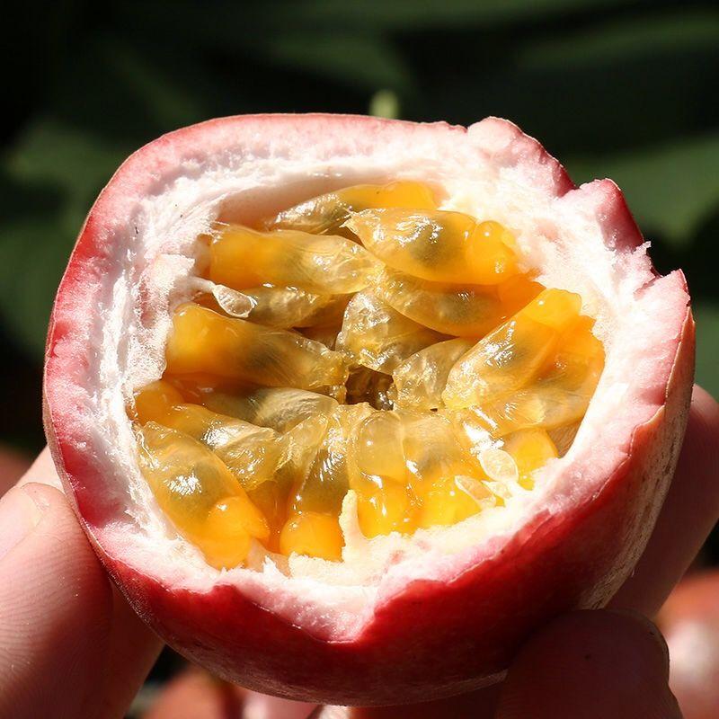 广西百香果新鲜水果西番莲水果5斤3斤2斤装百香果批发 酸甜多汁_8