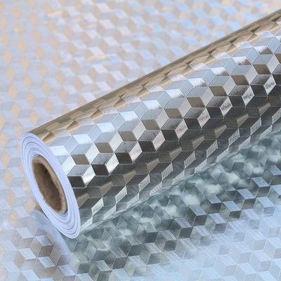 厨房防油贴纸耐高温橱柜灶台柜子油烟壁纸防水墙纸自粘旧家具翻新