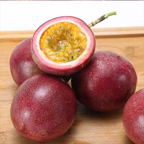 广西百香果新鲜水果西番莲水果5斤3斤2斤装百香果批发 酸甜多汁_3