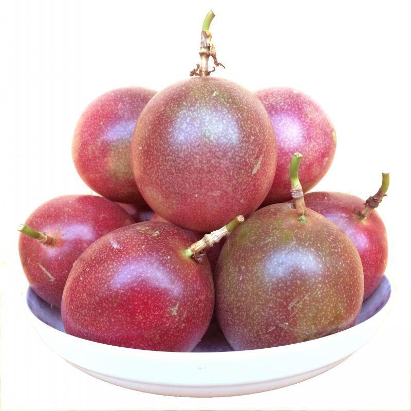 广西百香果新鲜水果西番莲水果5斤3斤2斤装百香果批发 酸甜多汁_5