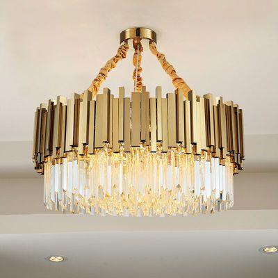 后现代简约客厅灯港式轻奢2019新款卧室水晶灯具创意个性餐厅吊灯