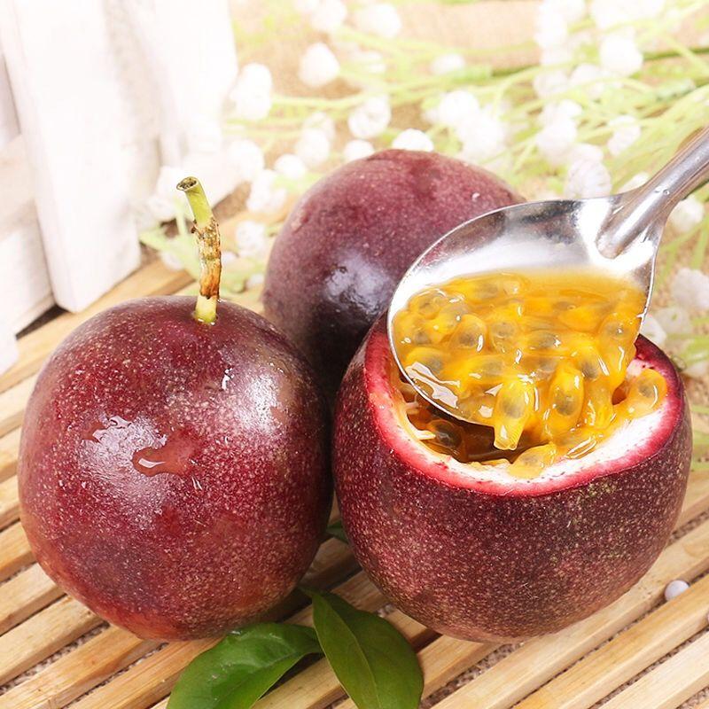 广西百香果新鲜水果西番莲水果5斤3斤2斤装百香果批发 酸甜多汁_7